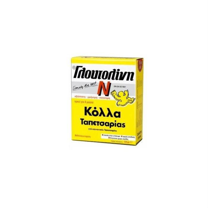 Glutolin Κόλλα για Ταπετσαρίες (γλουτολίνη) 125gr