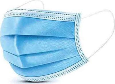 Μάσκες χειρουργικές 3PLY Μίας χρήσεως 50τεμ.