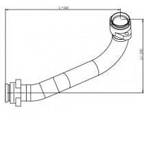 Σωλήνες εξάτμισης DINEX 53176