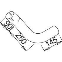 Σωλήνες εξάτμισης DINEX 54119