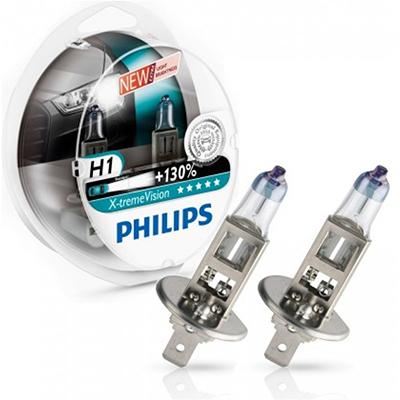 Philips X-Treme Vision H1 +130% 12V 55W set