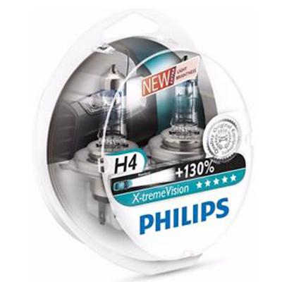 Philips X-Treme Vision H4 +130% 12V 55W