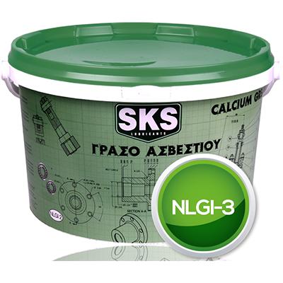 Γράσο Ασβεστίου NLGI3 4kg