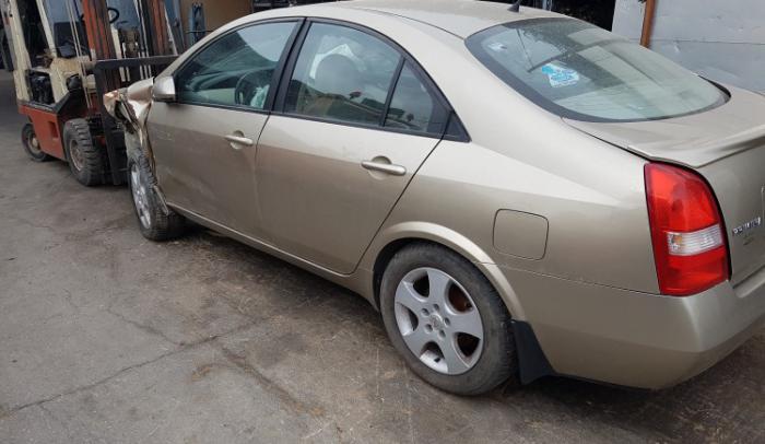 Nissan-primera-P12-QG16-2004, για ανταλλακτικά