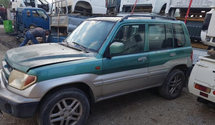Ολόκληρο αυτοκίνητο για ανταλλακτικά από Pajero-pinin-2001-4g93....