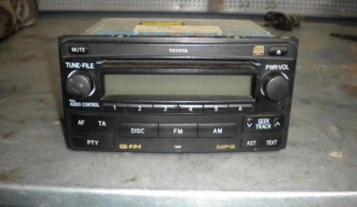 ΡΑΔΙΟ CD-MP3-2DIN ΕΡΓΟΣΤΑΣΙΑΚΟ ΑΠΟ TOYOTA-HILUX-2008-4D....