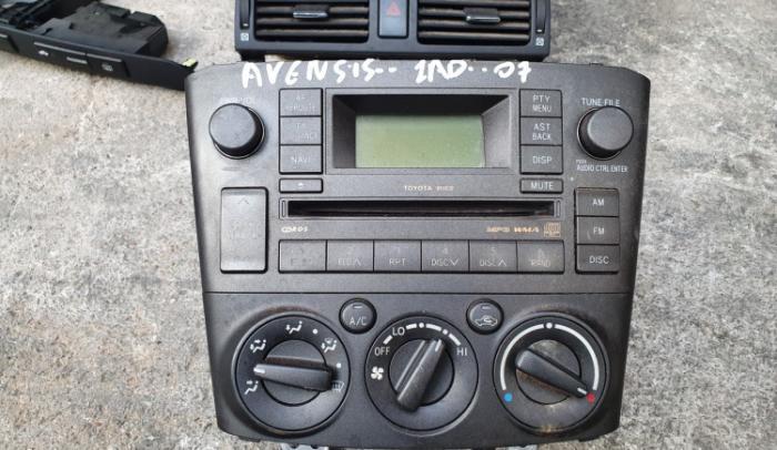 Ράδιο C/d Mp3 Toyota/Avensis/1Ad/2007 2.0 D-4D...