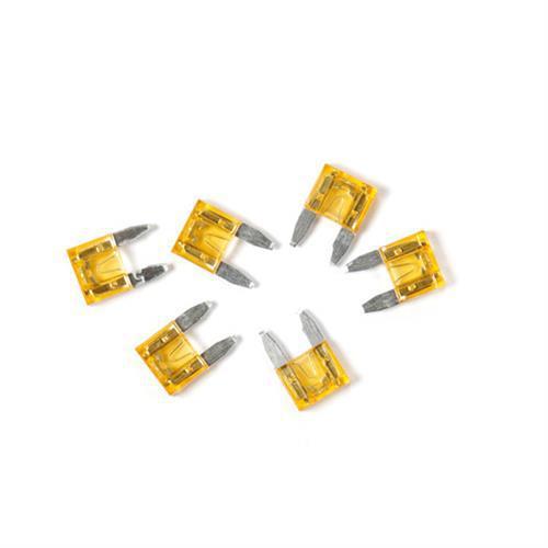 Ασφάλειες Mίνι 30A 12/24V SMART-LED 6τεμ.