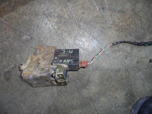 Ηλεκτρομαγνητική Κλειδαριά Πίσω Αριστερή 2pin για CITROEN SAXO (1996 - 1999) (S) , (1999 - 2002) (S) | Kiparissis - The King of Parts