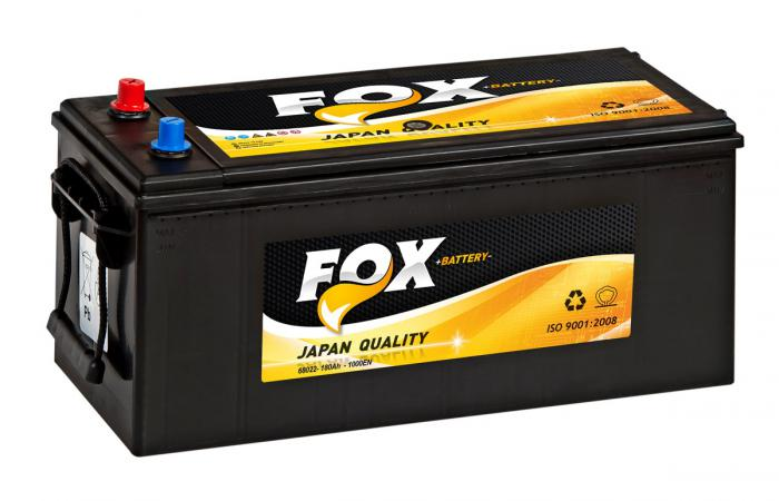 FOX JAPAN 68022 180AH-1000EN ΜΠΑΤΑΡΙΑ ΚΛΕΙΣΤΟΥ ΤΥΠΟΥ