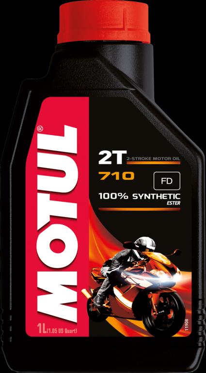 MOTUL 710 2T ΑΝΤΙSMOKE MOTO 1L