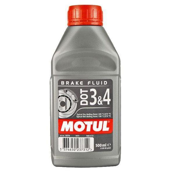 MOTUL Υγρά φρένων συνθετικά DOT 3 & 4 Brake Fluid 500ml