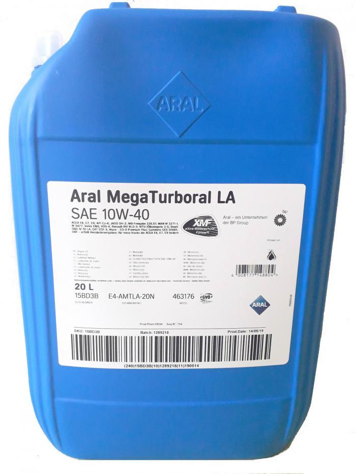 ARAL E9 API-CJ-4 MegaTurboral LA 10W-40 20L