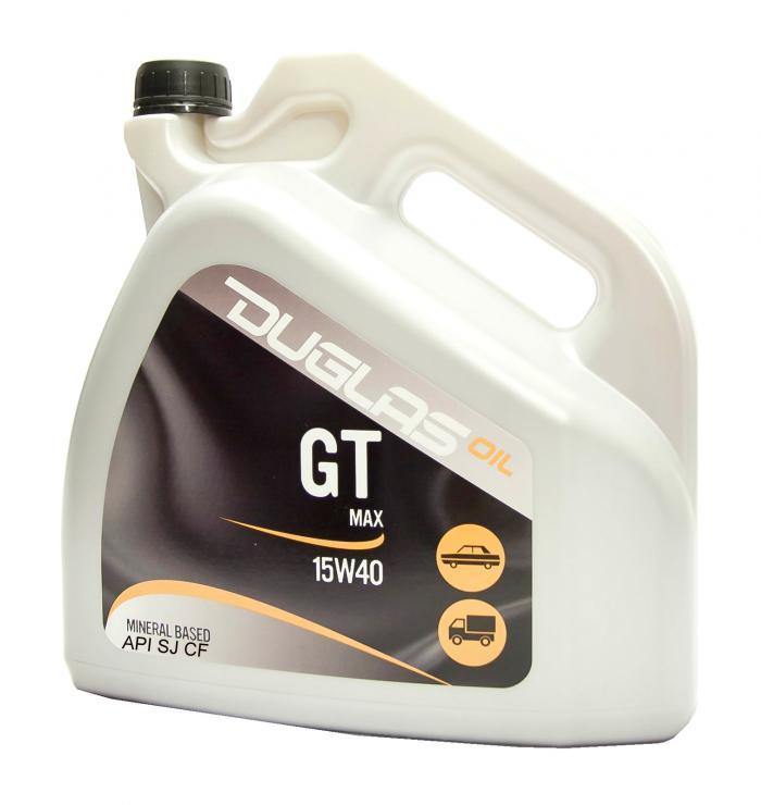 DUGLAS OIL GT MAX 15W-40 API SJ CF 4L