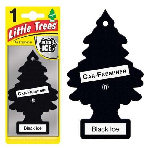 Αρωματικό Δεντράκι γνήσιο Little Trees Air Freshener Black ice-110.01.103