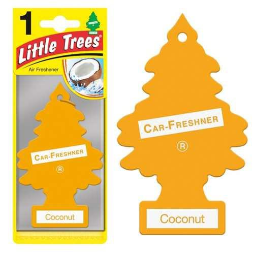 Αρωματικό Δεντράκι γνήσιο Little Trees Air Freshener καρύδα-110.01.102