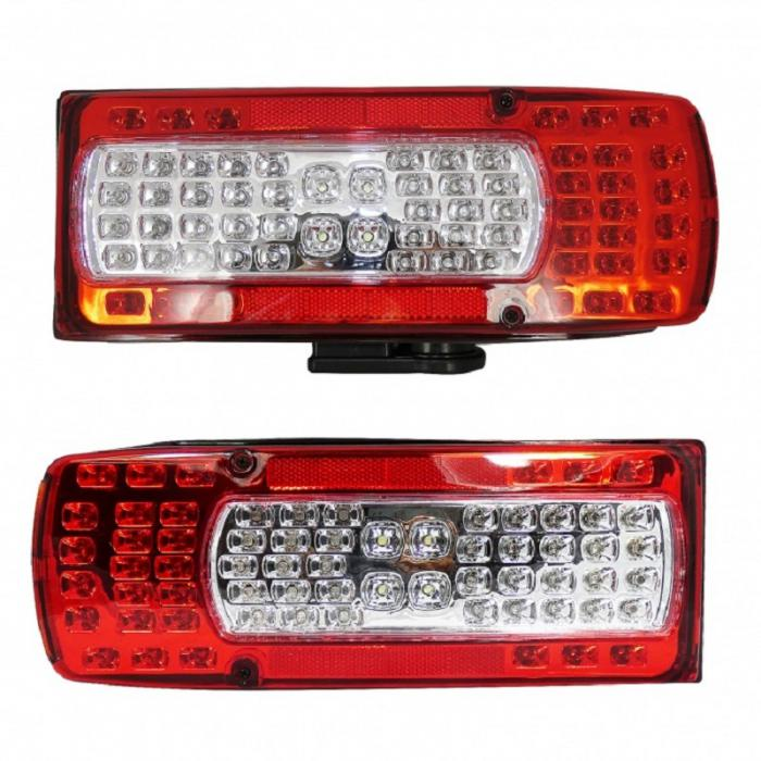 SHOPBATTERY Σετ LED Φανάρι Φορτηγού Πίσω 2τεμ 24V για VOLVO FH