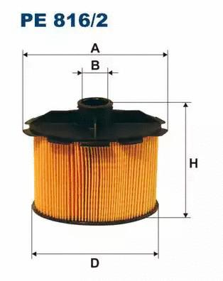 Φίλτρο καυσίμων FILTRON PE8162
