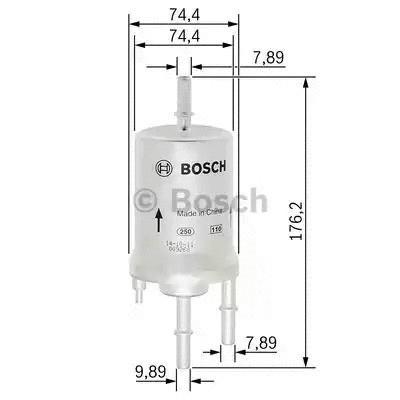 Φίλτρο καυσίμων BOSCH F026403003
