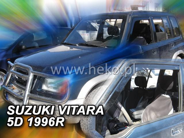 Ανεμοθραύστες Heko Για Suzuki Vitara 5D Do 1998R. Φιμέ Χρώμα Ζευγάρι 2 Τεμάχια Εμπρός
