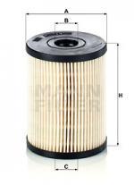 Φίλτρο καυσίμου MANN-FILTER PU8013Z